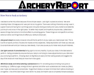 archeryreport.com